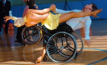 Wheelchair ballroom dance