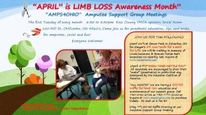 amputee support month