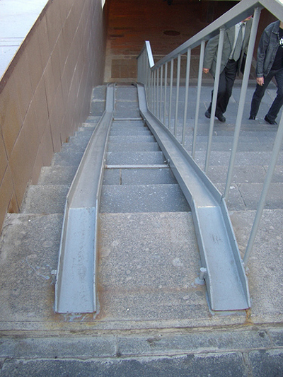 handicap ramp slope
