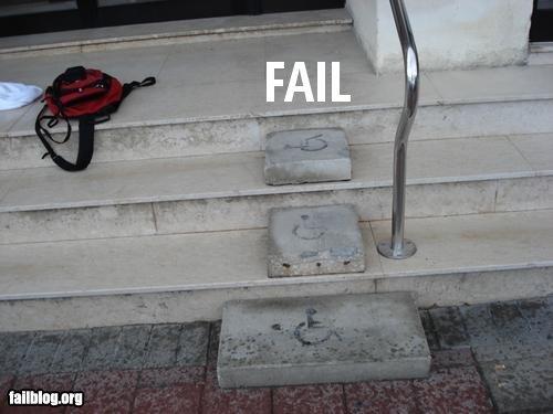 Wheelchair Ramp Steps